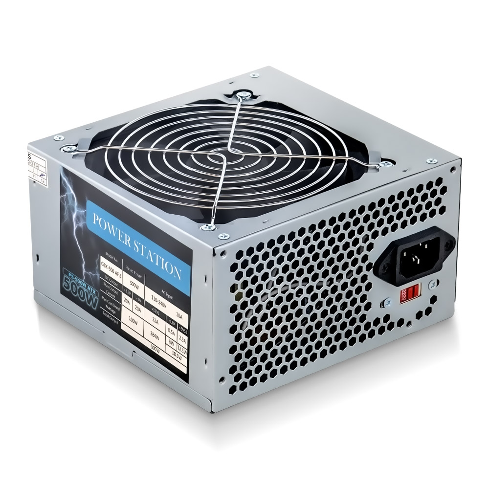 Fonte Real 500W - Power Station