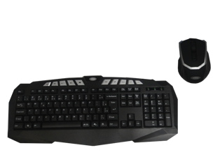 Kit teclado e mouse USB - Horbi