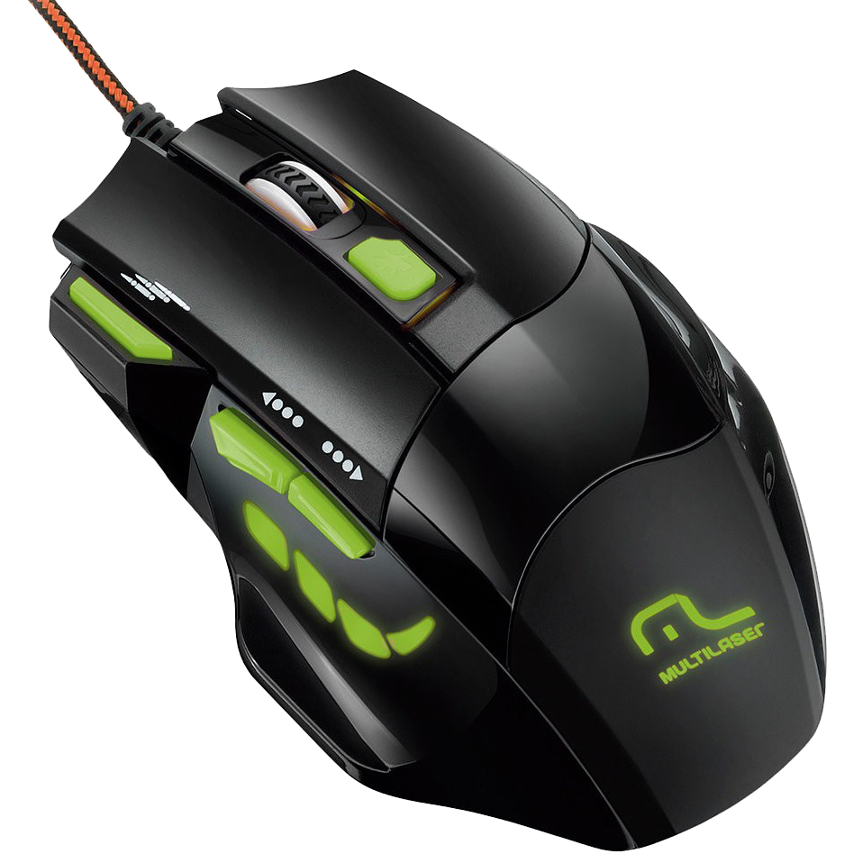 Mouse USB Gamer Fire MO208 - Multilaser