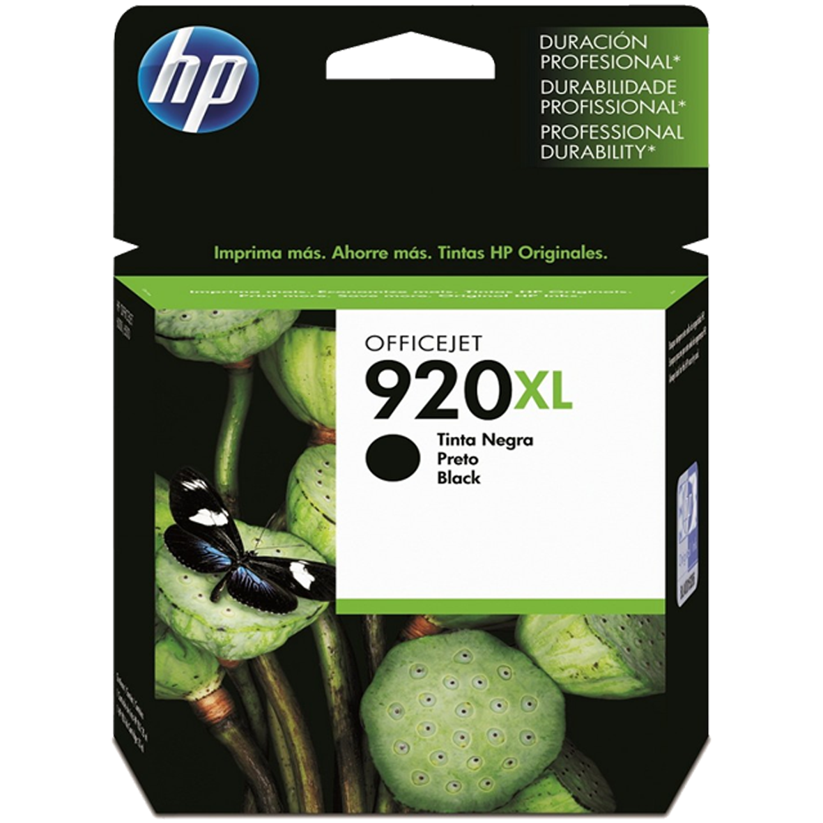 Cartucho HP 920XL Preto Original