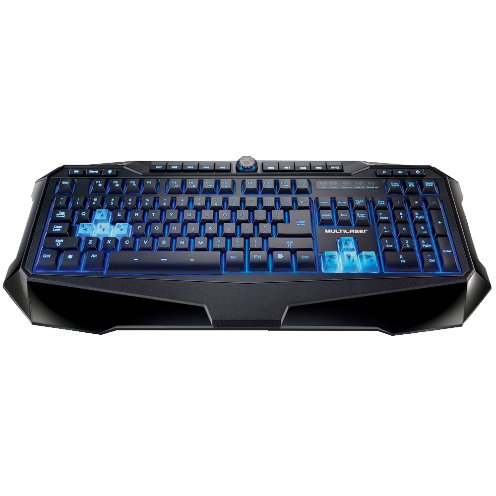 Teclado USB Multimi. Gamer TC167 - Multilaser