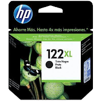 Cartucho HP 122XL Preto Original