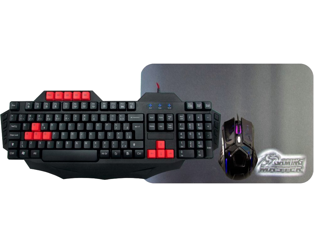 Kit Gamer Gaming Master - Kmex
