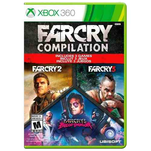 Game Far Cry Compilation - Xbox 360