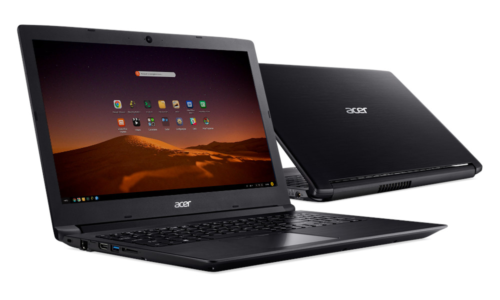Notebook i5/8Gb/1Tb/Linux - Acer