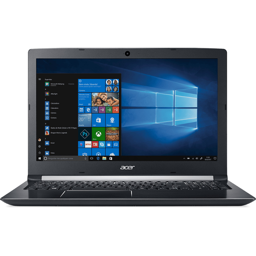 Notebook i7/8Gb/1Tb - Acer