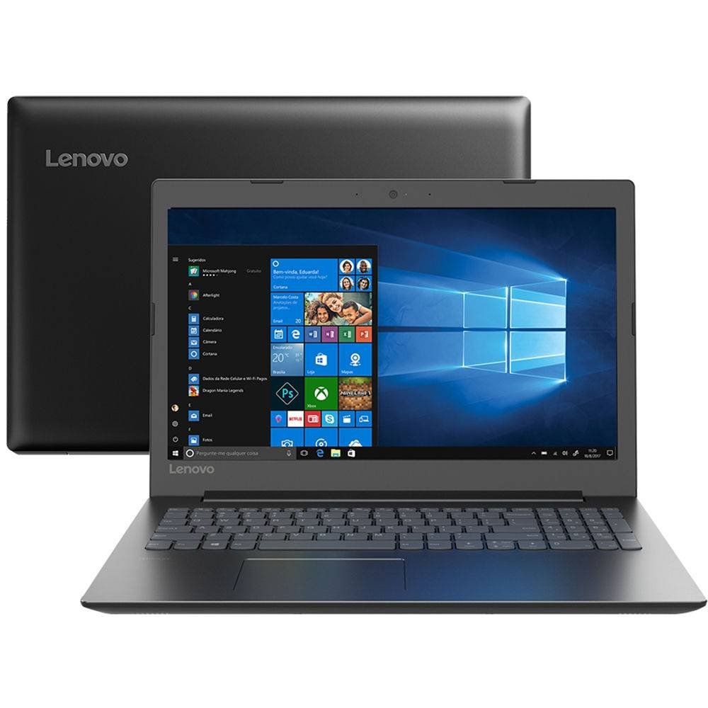 Notebook i3/4Gb/500Gb/W10 - Lenovo