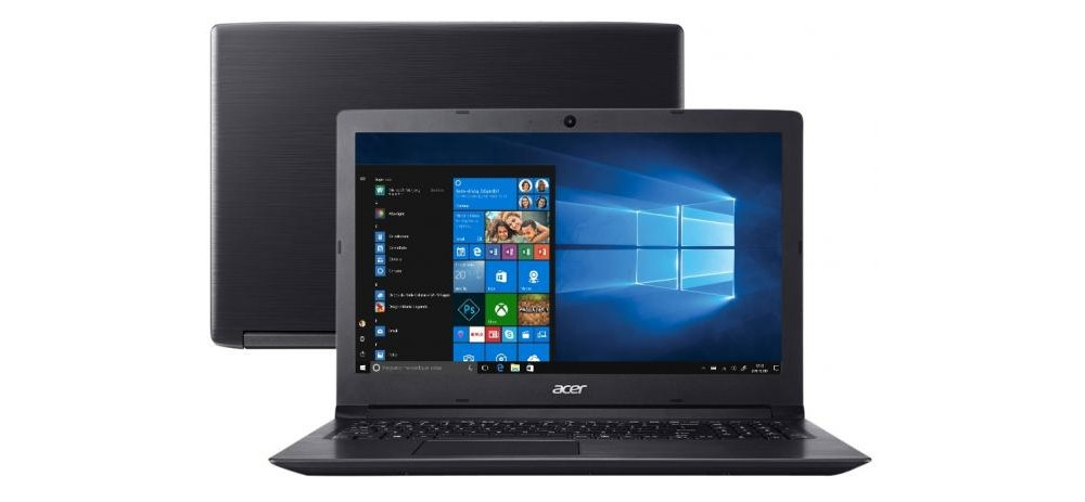 Notebook i5/4Gb/1Tb/ W10 - Acer